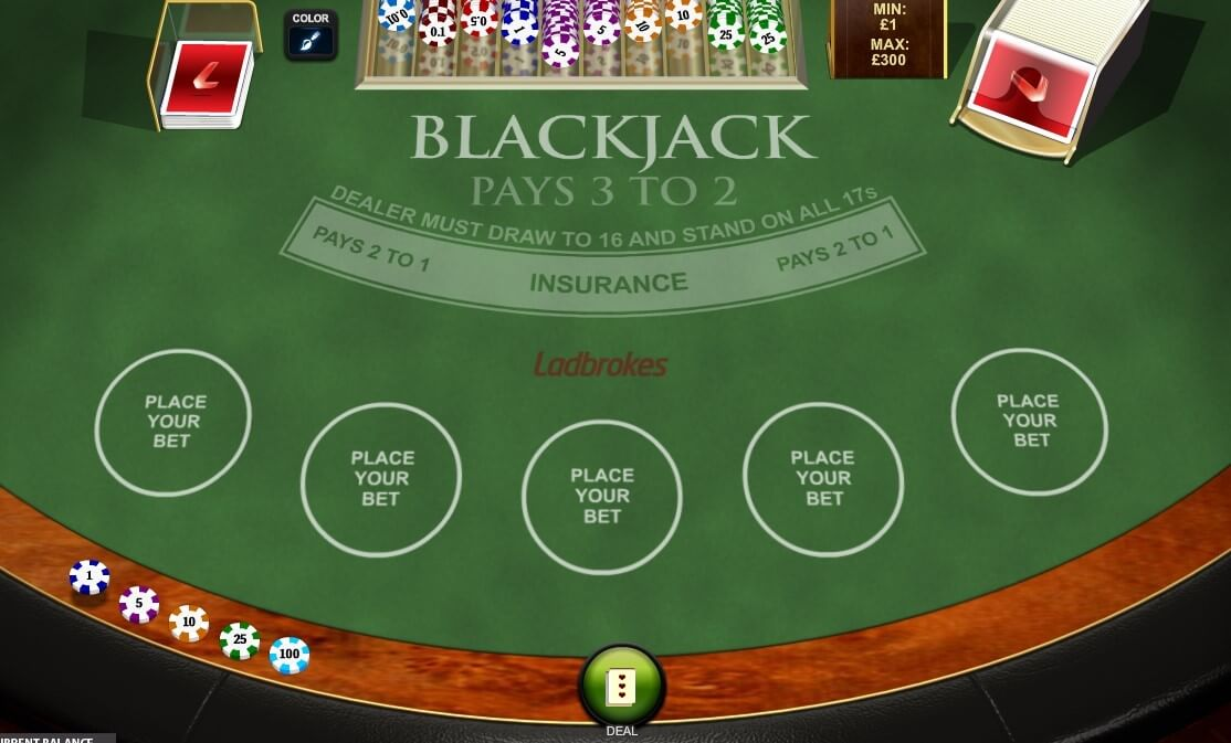 Blackjack ladbrokes