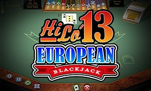 Hi Lo 13 Blackjack