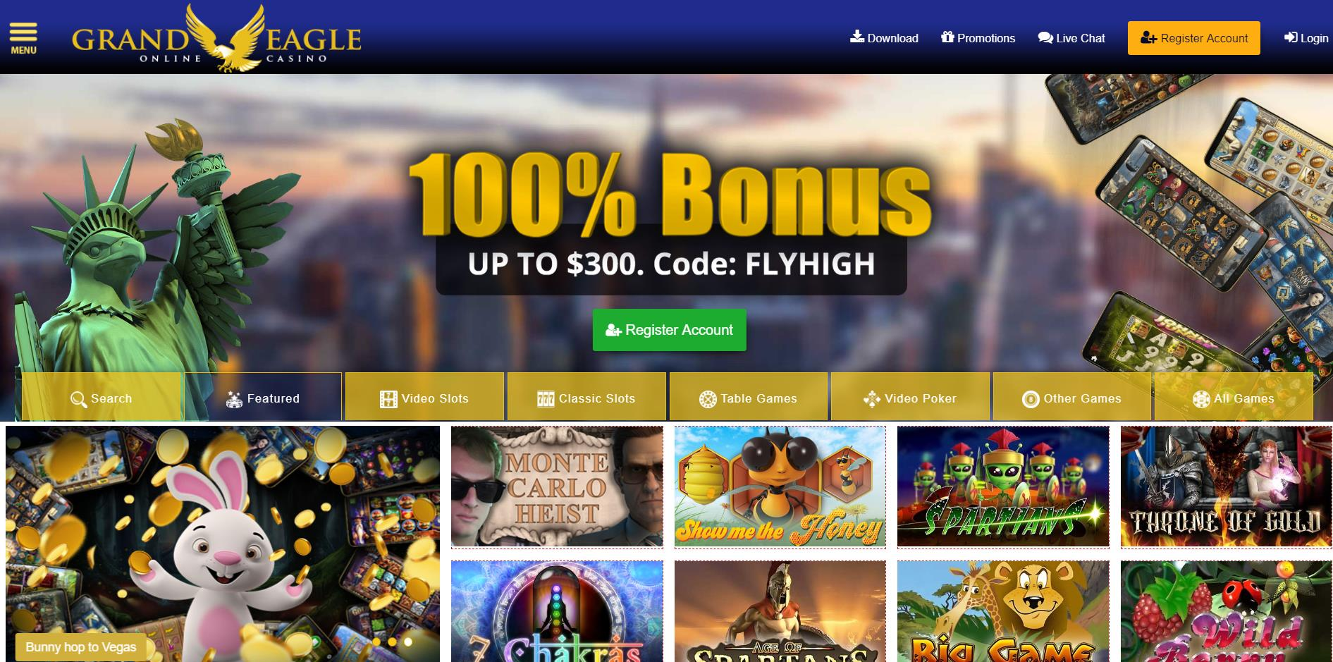 Grand Eagle Casino Canada Grand Eagle Online Casino 2020