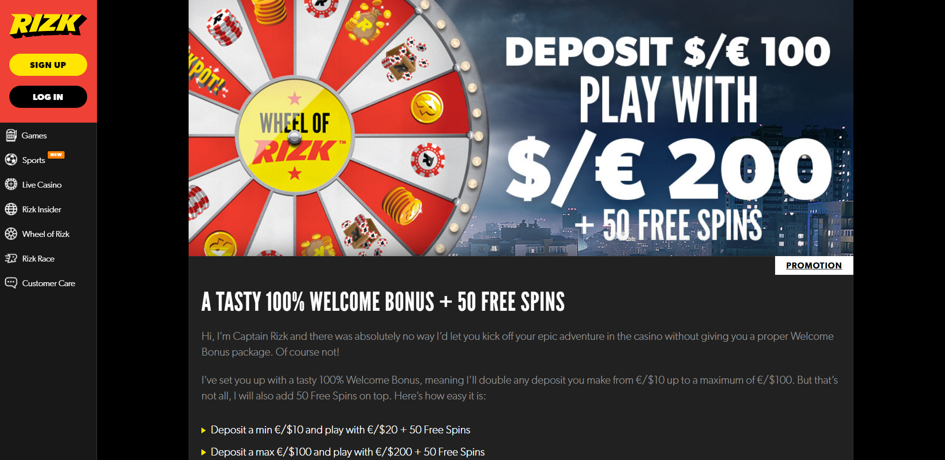Rizk Casino Reviews