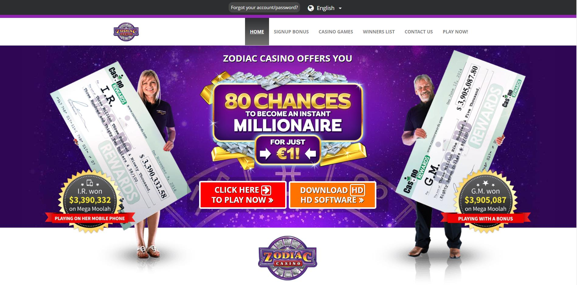 Zodiac Casino Deutsch