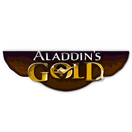 aladdins gold logo
