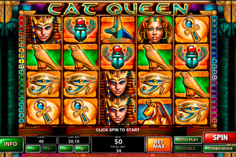 cat queen playtech