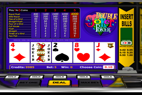 double joker poker betsoft