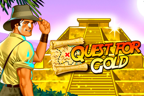 logo quest for gold novomatic