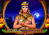 logo riches of cleopatra playson