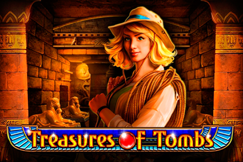 logo treasures of tombs playson