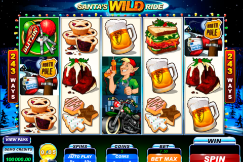 santas wild ride microgaming